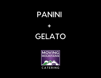 Moving Mountains Panini + Gelato at Steamboat Farmers Market