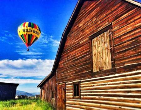 Hot Air Balloon Ride in Steamboat Springs