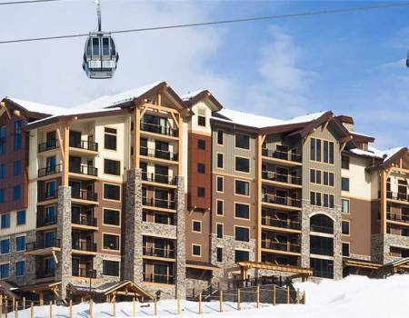 The exterior of Edgemont in Steamboat Springs, CO