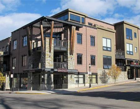 The exterior of Olympian in Steamboat Springs, CO