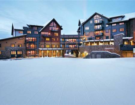 Exterior of One Steamboat Place in Steamboat Springs CO