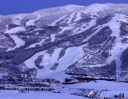 Steamboat Springs ski mountain