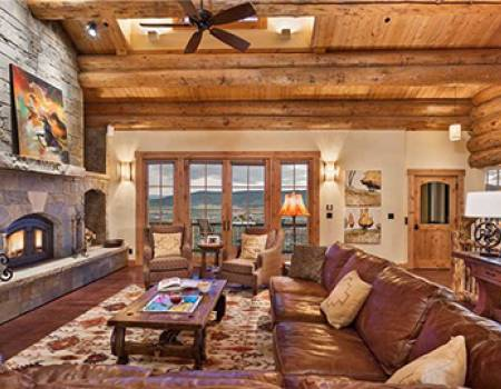 Inside of a Steamboat Springs vacation homes