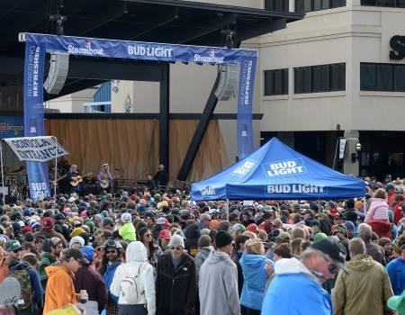 Bud Light Rocks the Boat Steamboat Free Concert Series