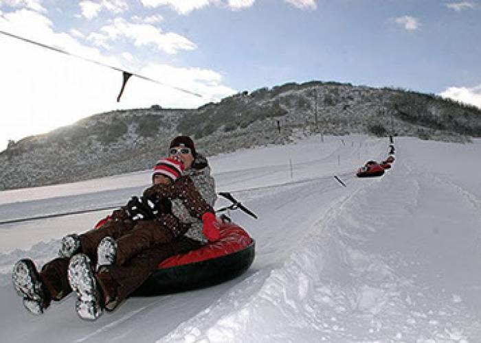 tubing at saddleback ranch