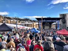 Steamboat spring skiing festivities