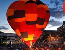 Steamboat Balloon Glow | Moving Mountains