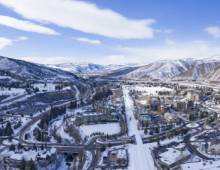 Vail Valley in the winter
