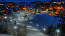 Steamboat Springs Colorado Night Skiing