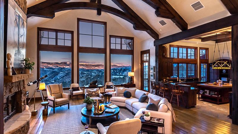 Wilton House, Luxury Vacation Home in Cordillera, Colorado