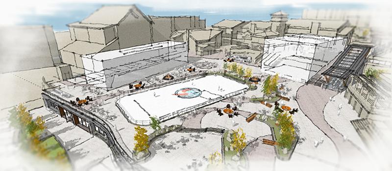 Steamboat Gondola Square Redevelopment Rendering