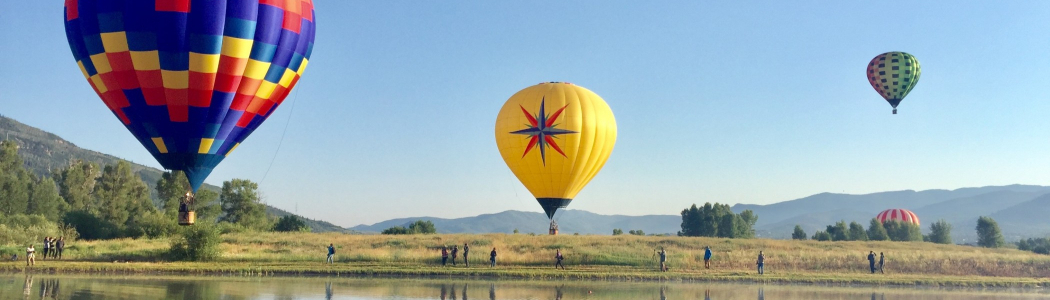 Steamboat Balloons   Moving Mountains