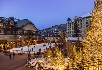 Beaver Creek Village, Ice Skating Rink