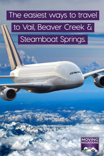 direct flights to Vail, Beaver Creek and Steamboat