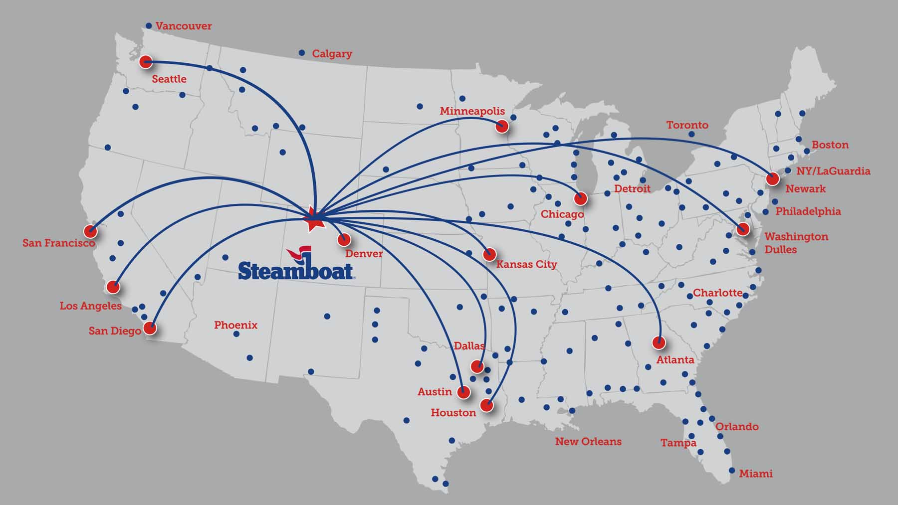 Steamboat Springs Flight Map | Moving Mountains