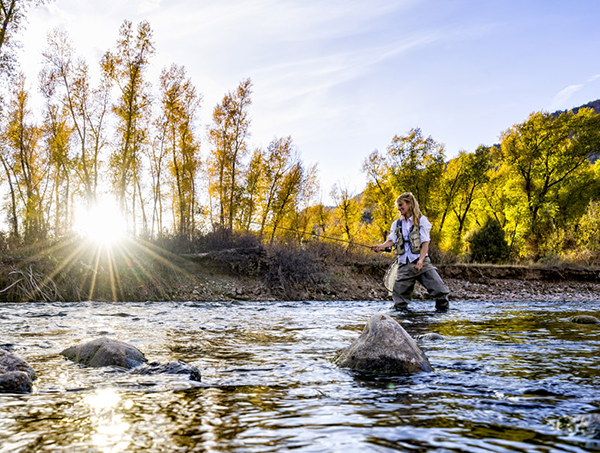 Fly Fishing in Steamboat