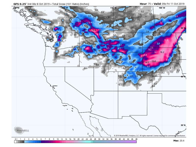Powder Forecast