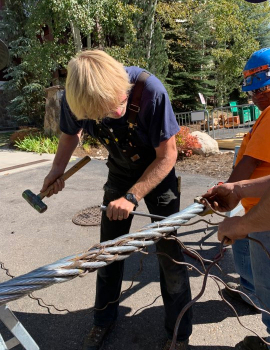 Haul Rope Install