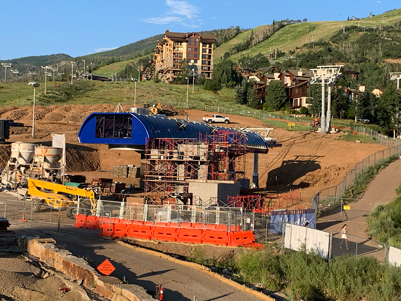 New Steamboat Gondola Terminal