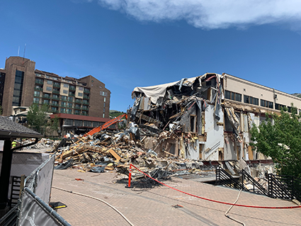 Steamboat Gondola Building Demolition