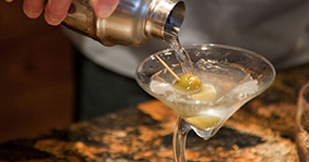 Luxury Catered Chalet Cocktails in Steamboat Springs