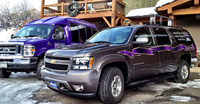 Luxury Catered Chalet Private Transportation in Steamboat Springs