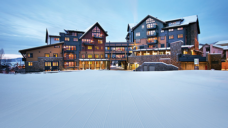 One Steamboat Place, Steamboat Luxury Condos, Slopeside