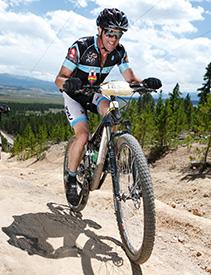 Robin Craigen - biking