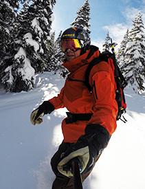 Robin Craigen - snowboard