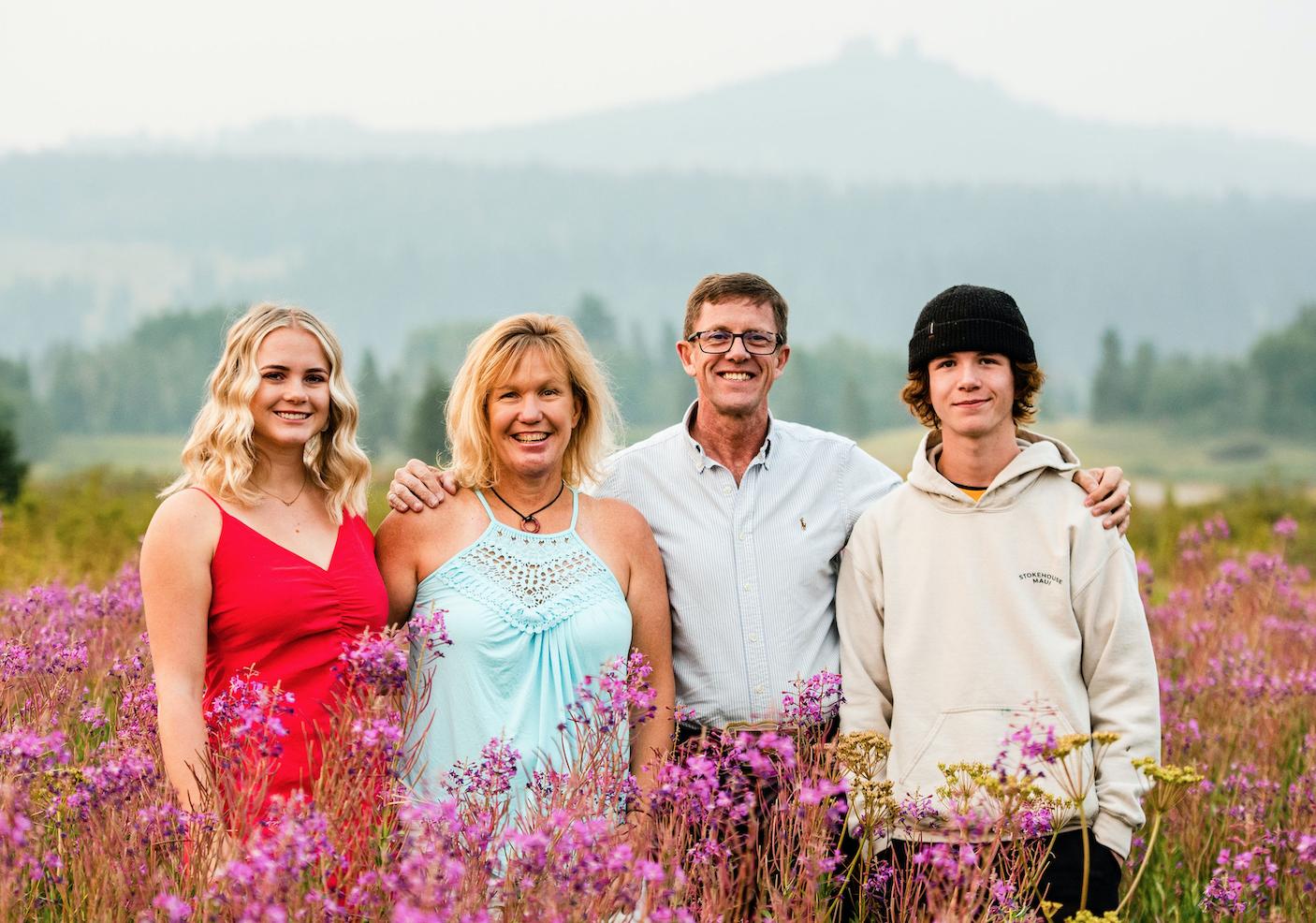 Robin & Heather Craigen & Family