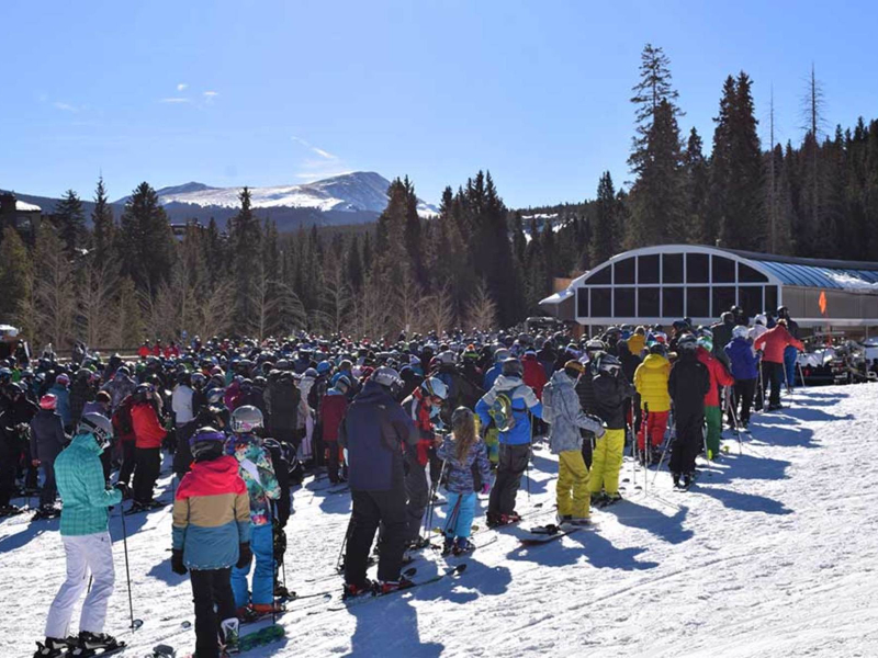 avoid ski crowds