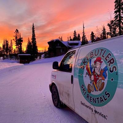 Ski Butlers Van