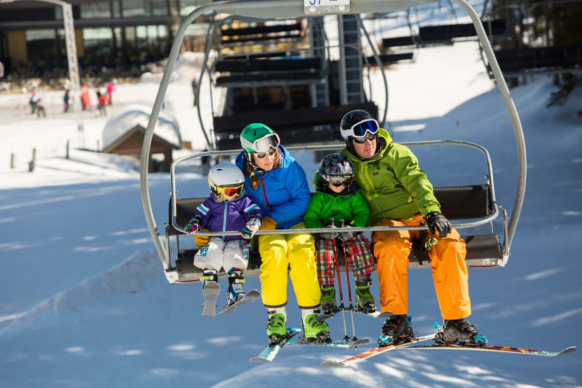 Family Chairlift   Moving Mountains