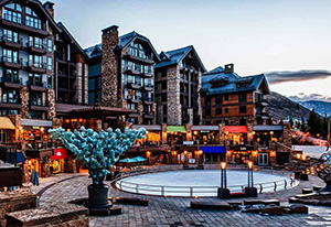Vail Ice Skating Rink, Solaris, Vail Village