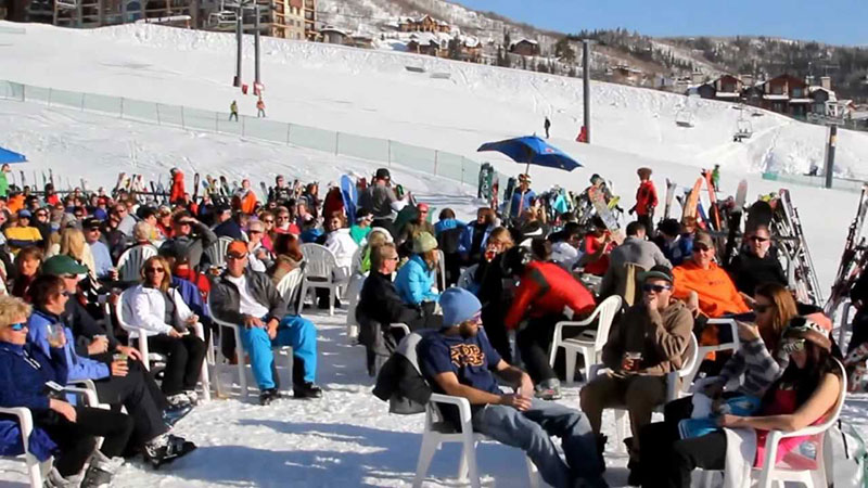 slopeside grill best apres ski spots steamboat