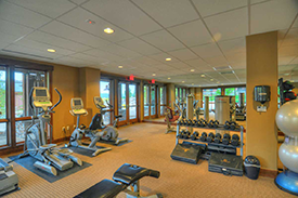 Fitness Center at Trailhead Lodge at Wildhorse Meadows in Steamboat Springs
