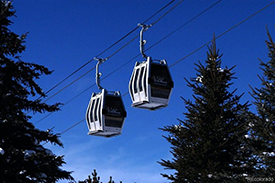 Gondola at Trailhead Lodge at Wildhorse Meadows in Steamboat Springs