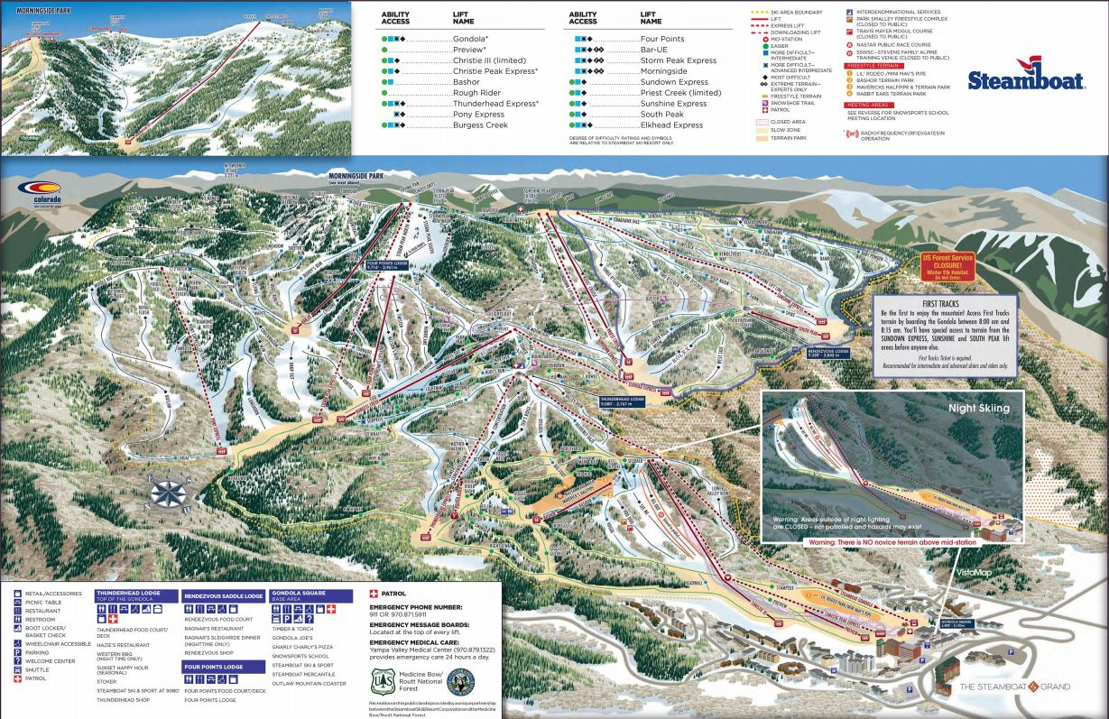 Steamboat Trail Map | Moving Mountains