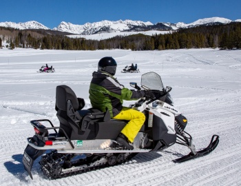 Vail Snowmobiling